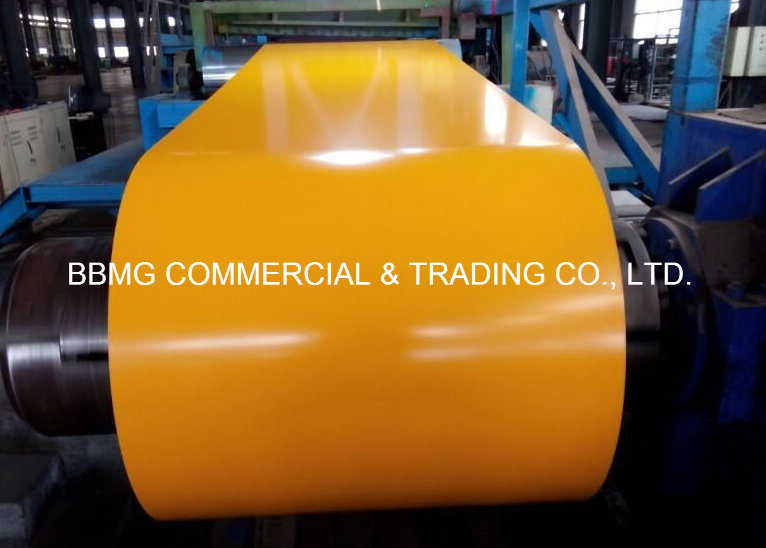 China Supplier of Color Coated Steel Coil with Good Price