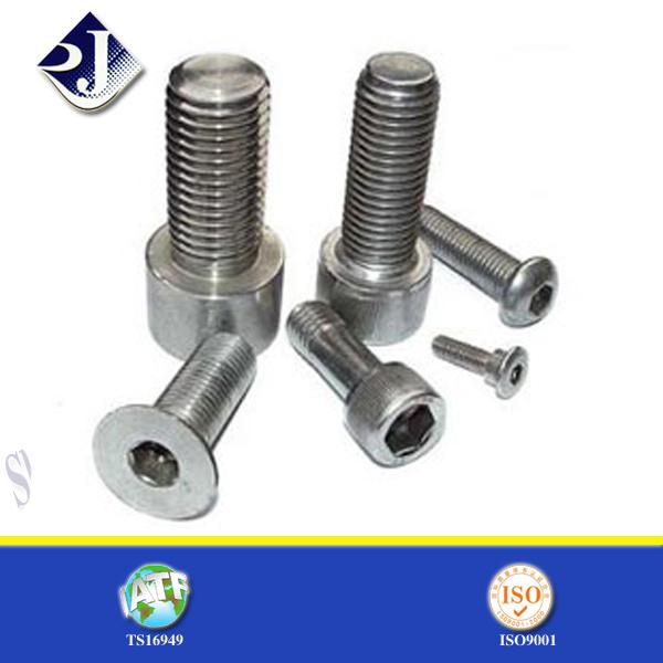 Zinc-Plated Steel Hex Cap Screw