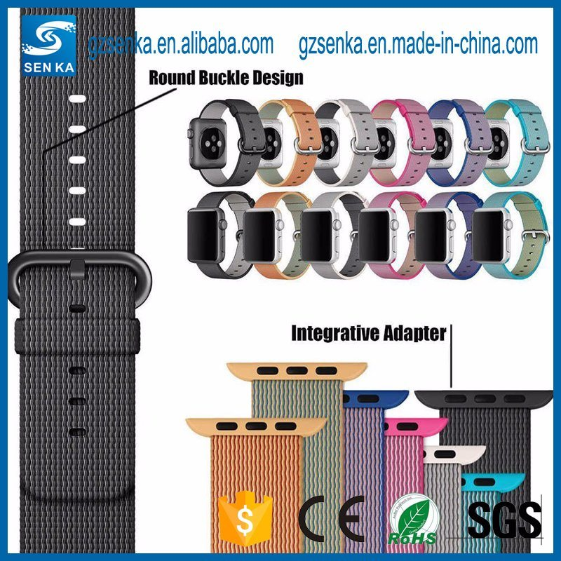 Changeable Multi Color Nylon Watch Strap for Iwatch