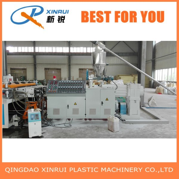 PVC Plastic Crust Foam Board Extruder Making Machine