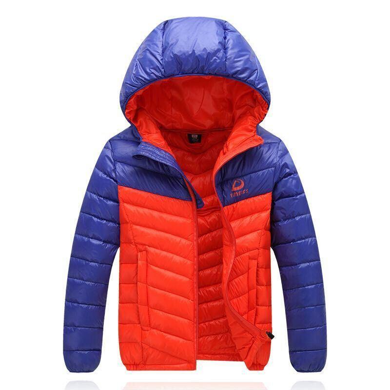 Outdoor Garments, Navy Ski Down Fleece Winter Jacket for Man