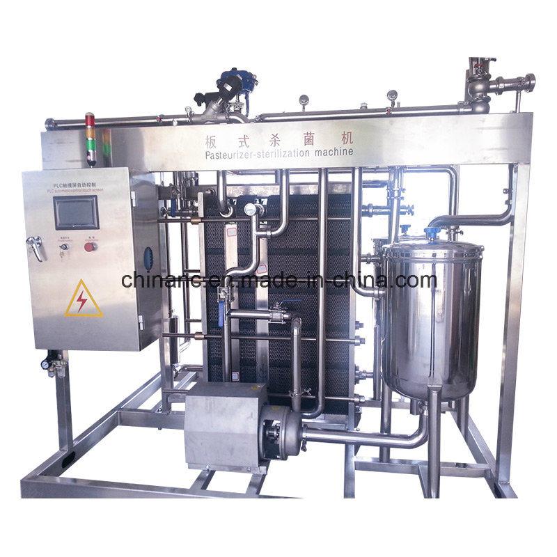 Full Automatic 2000L/H Plate Uht Milk Sterilizer Machine