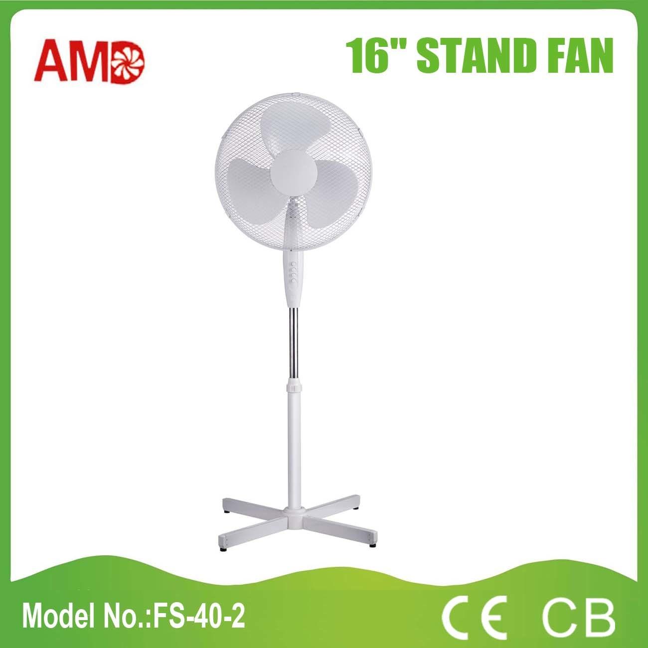 Hot-Sale European Market Stand Fan with CB Ce RoHS Certificate (FS-40-2)