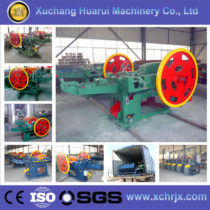 Automatic Nail Making Machine to Make Nails/Wire Steel Iron Nail Machine