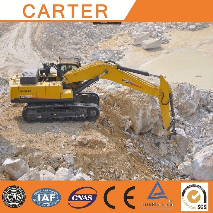 Hot Sales CT460 (146m3) Multifunction Heavy Duty Crawler Backhoe Excavator