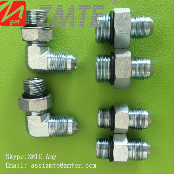 90 Degree Hydraulic Hose Fitting Adaptor