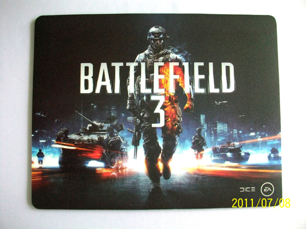 Carbon Resin Mouse Pad for Game Player