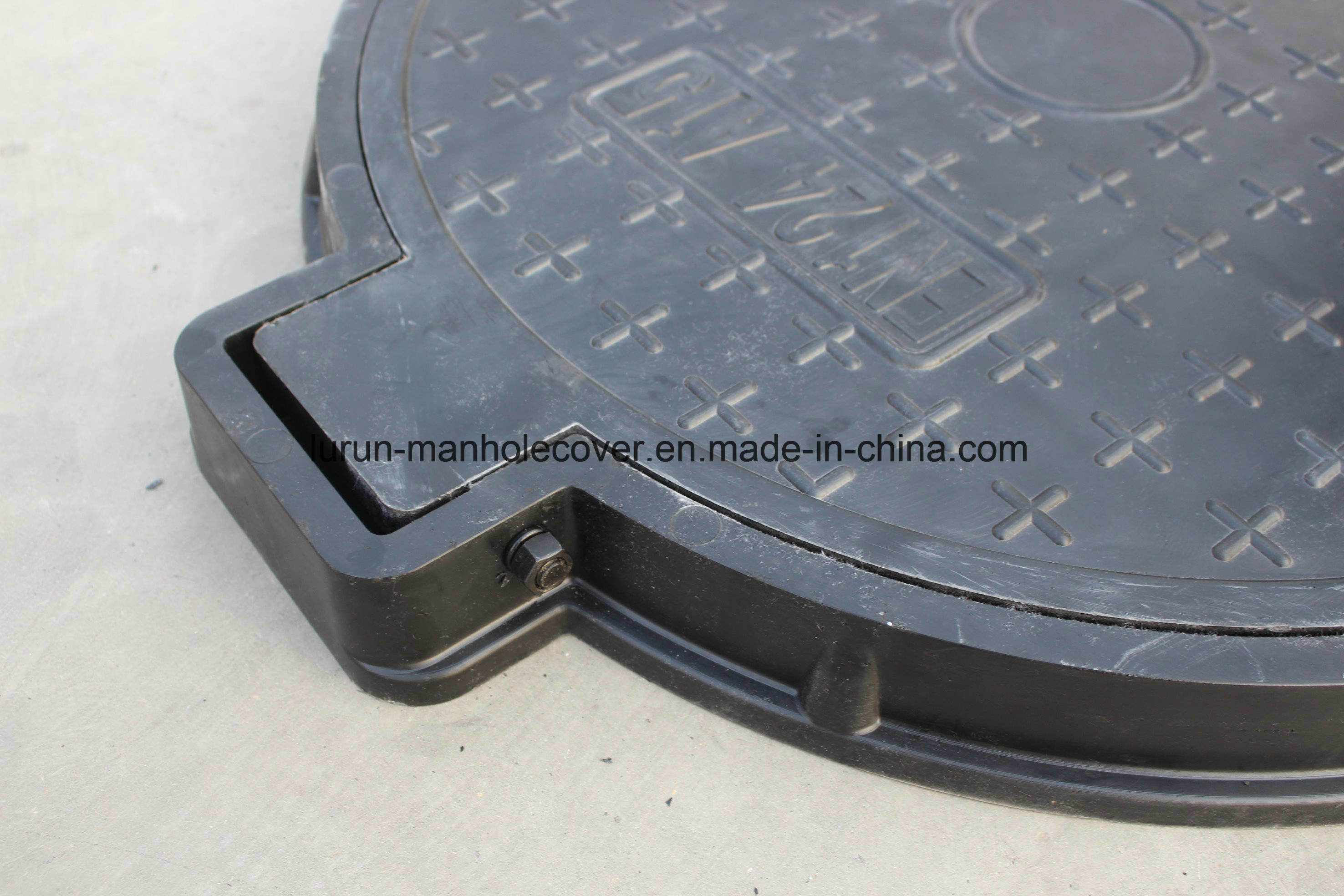 En124 Composite Light Weight Manhole Covers with Long Service Life