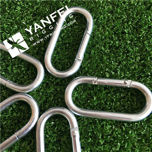 Zinc Plated Straight Type Snap Hook