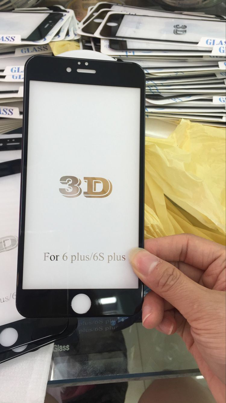 3D Full Cover Glass Screen Protector for iPhone6/6s/7/7plus