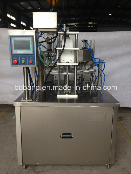 Stainless Steel Rotary Ice Cream Filling Machine