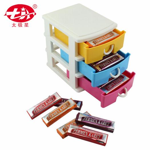 Chromatic Three Layers Drawer Chewing Gum