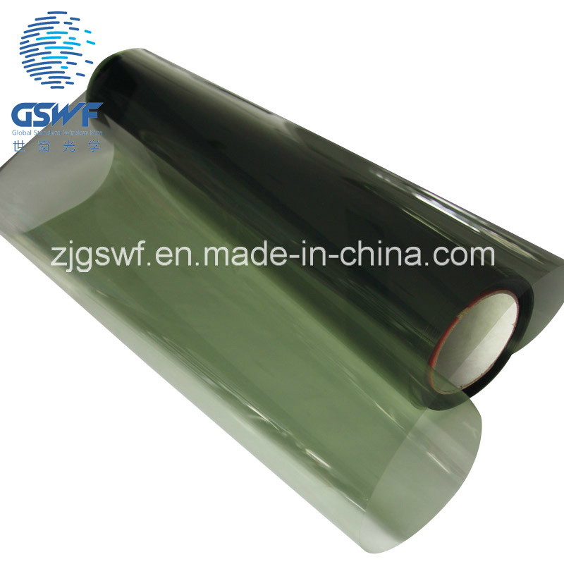 Dyed Metalized Solar Control Window Film for Car Decoration (2 ply GWY411)