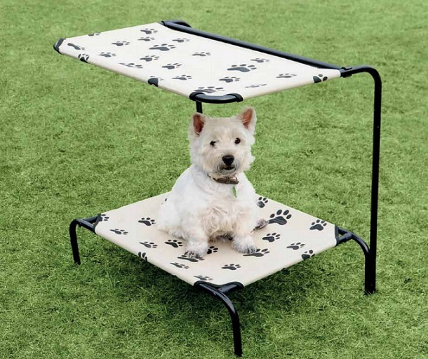 China dog bed with roof outerdoor pet bed metal frame pet for Dog bed roof