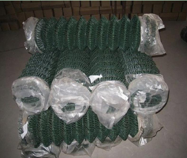 2inch Hole PVC Coated Chain Link Fence Mesh