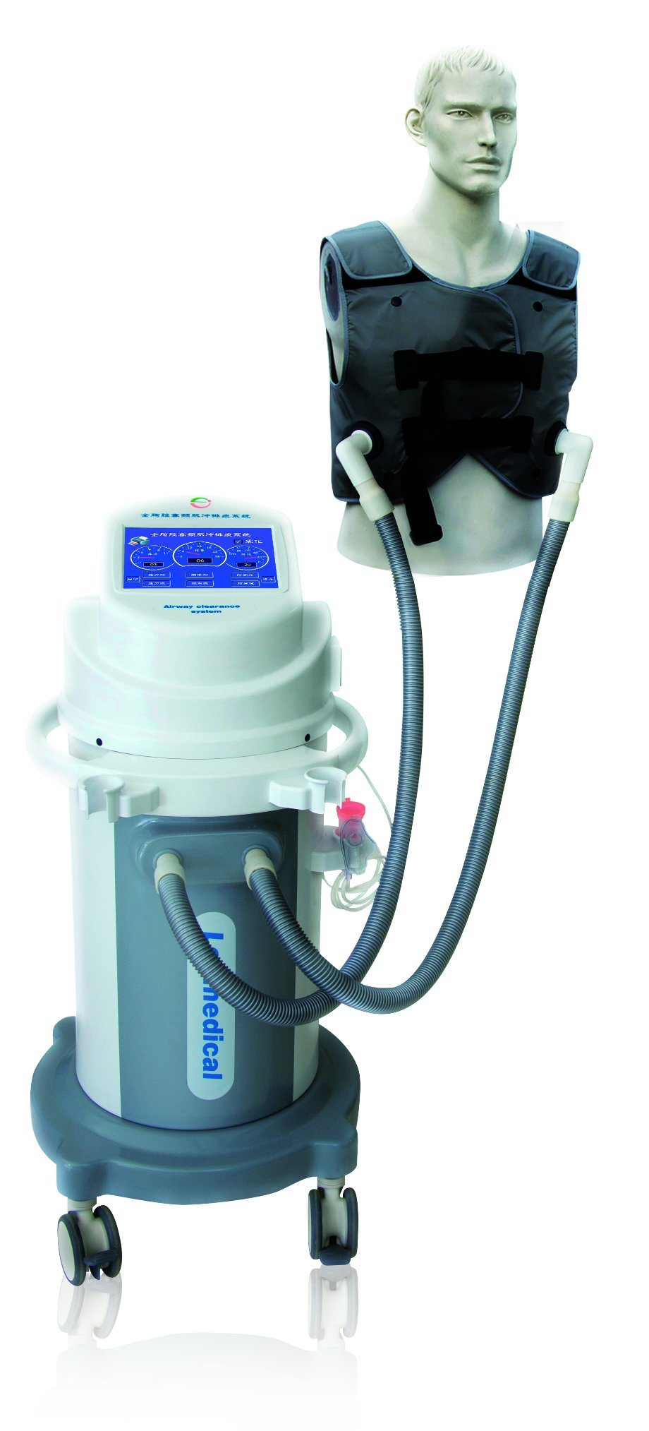 Touch Screen Airway Clearance System Acs204 with Auto Vest