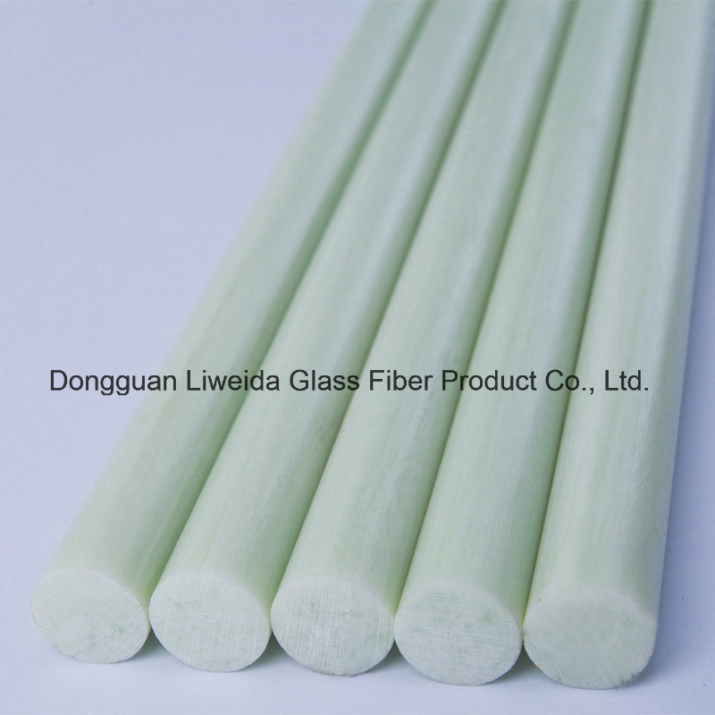 High Strength Corrossion Ressistant Fiberglass/FRP Pole, Epoxy Rod