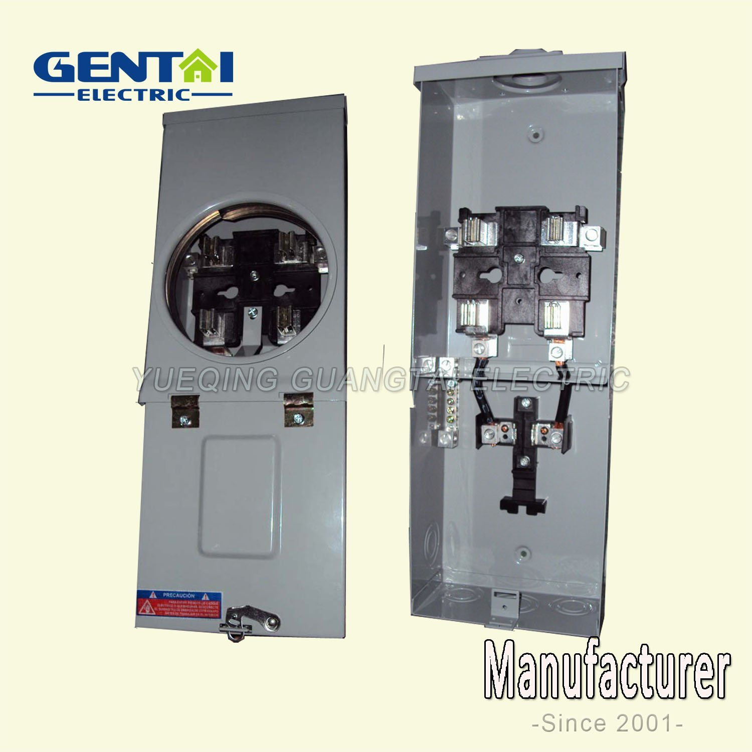 Gtfb-125A 4 Jaw Ringless Type Square Meter Socket