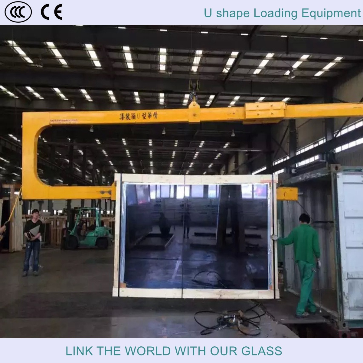Forklift Truck Crane Arm for Glass Loading