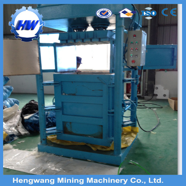 Manufacturer Vertical Cardboard and Plastic Baler Machine
