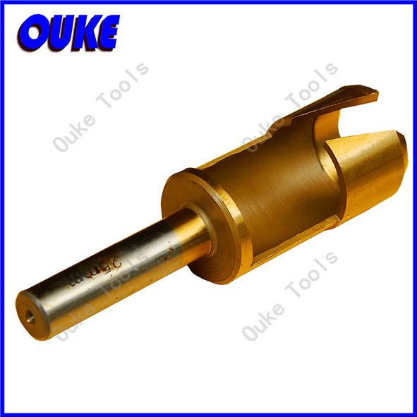 Tin Coated Round Tube Type Wood Plug Cutter