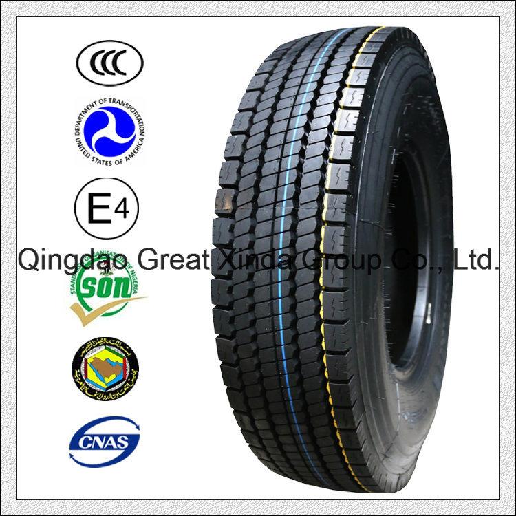DOT Certificate, All Steel Radial Truck Tyre/Tire (11R22.5 12R22.5 13R22.5)