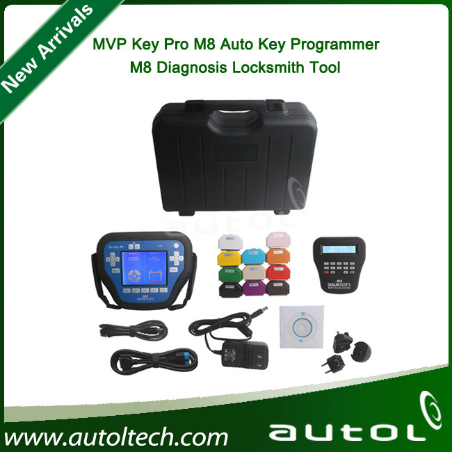 High Quality MVP Key PRO M8 Auto Key Programmer M8 Diagnosis Locksmith Tool