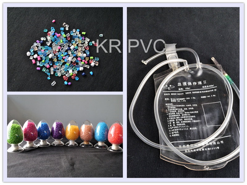 Soft Medical PVC Compounds for Transfusion Blood Bag
