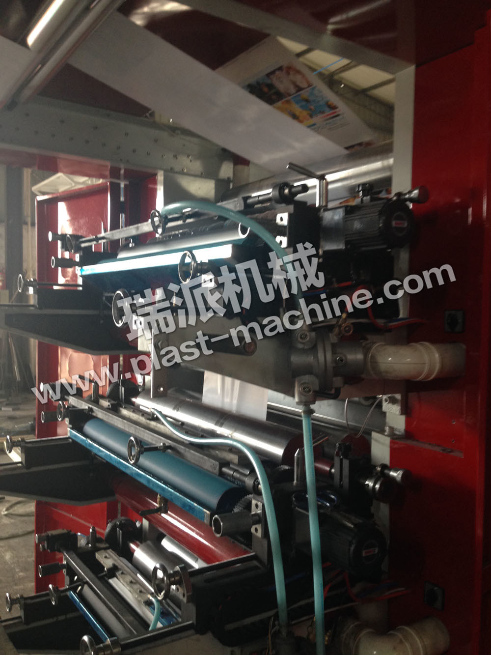 High Speed 4 Color Flexographic Printing Machine