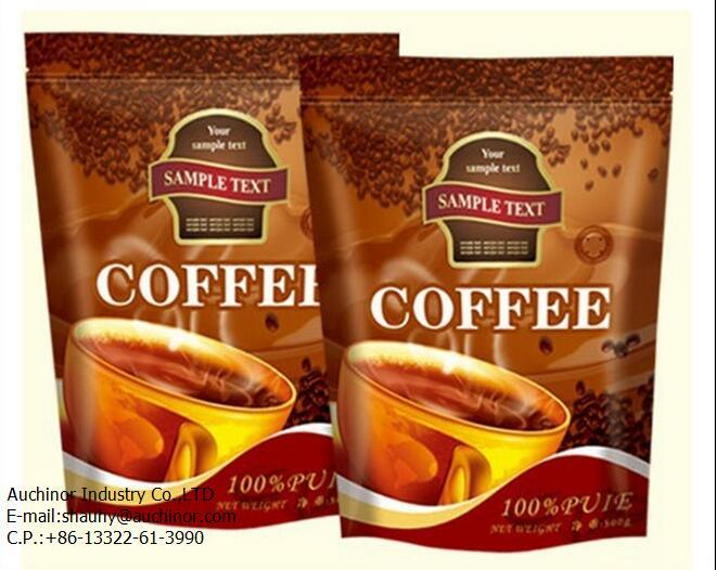Fashion Style Plastic Wholesale Custom Printing Small Coffee Laminated Bag