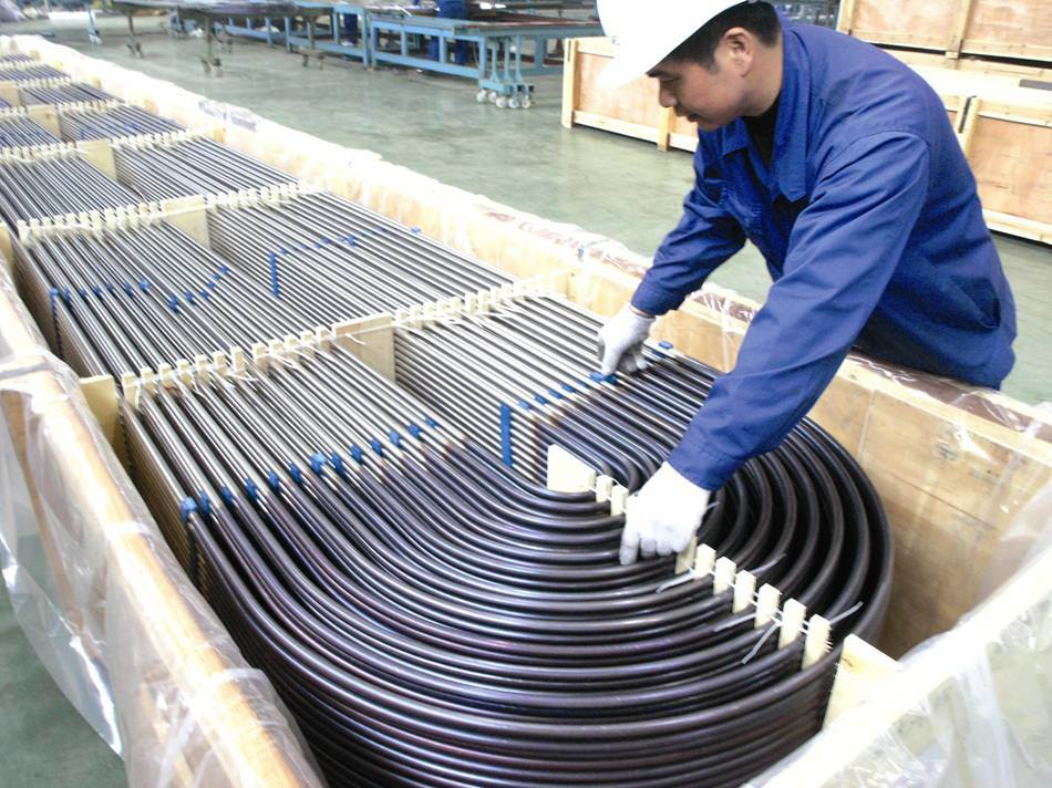 Stainless Steel Tube for Heat Exchanger Cy