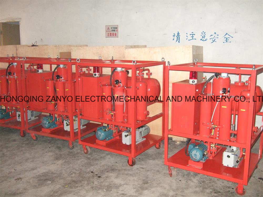 Zys Single Stage Vacuum Insulation Oil Purifier