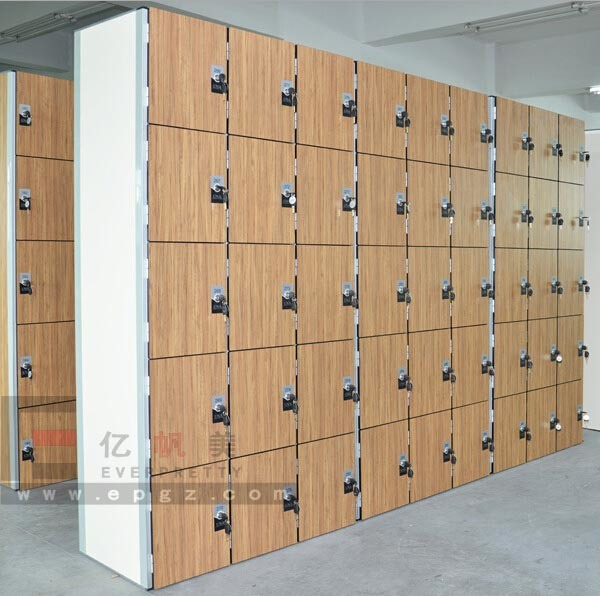High Quality Phenolic Compact Laminate Cabinet for Gym&Fitnessroom