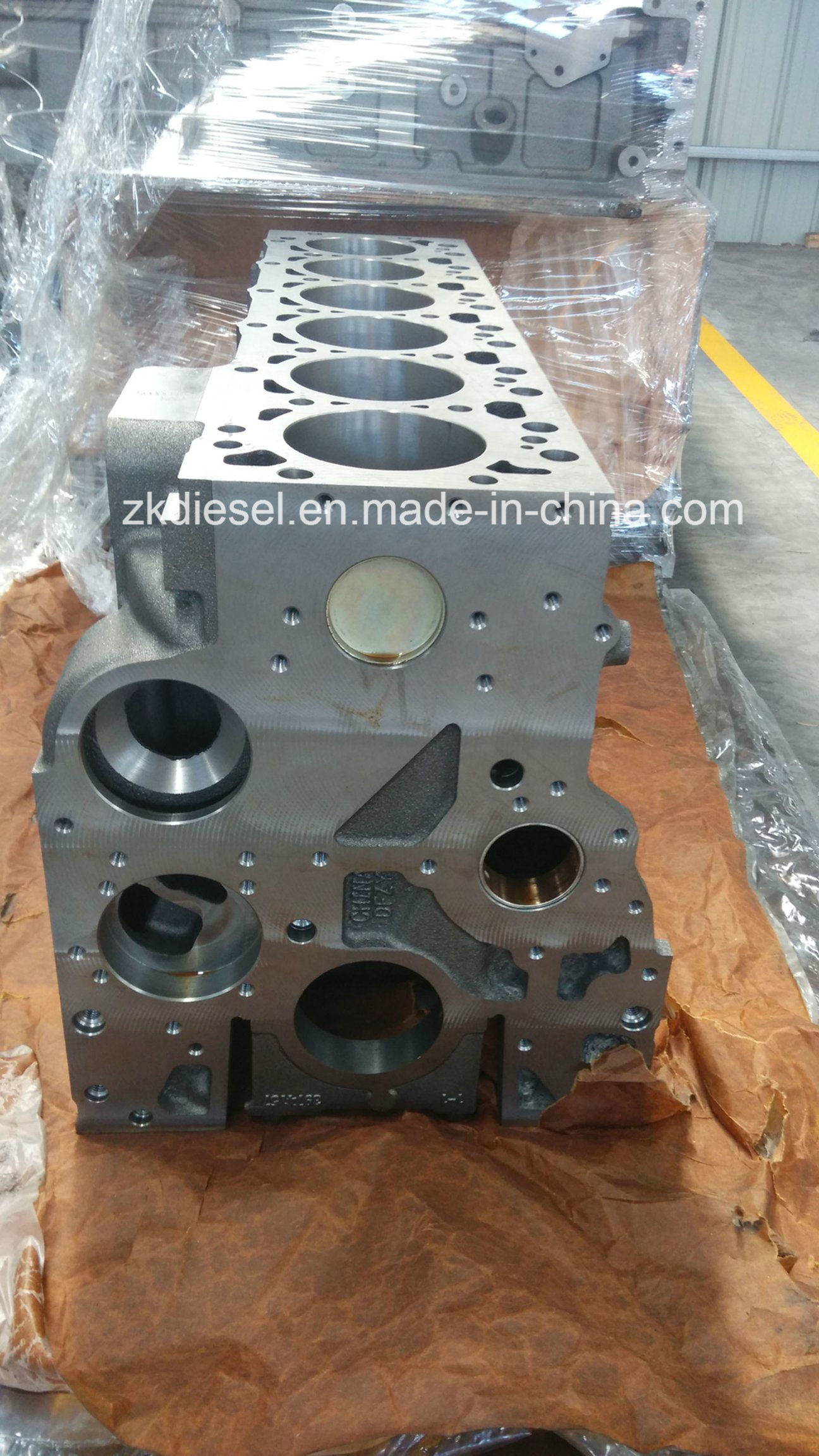 Factory Supply Cummins Isb5.9 Diesel Engine Cylinder Block with Original Casting 4897335/4089119/3971683/4897326/4025230/4025229/3963351/3979008