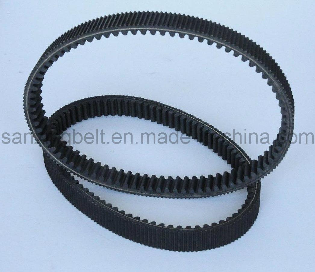 Rubber Narrow V Belt, Raw Edge Cogged V Belt for Air Compressor
