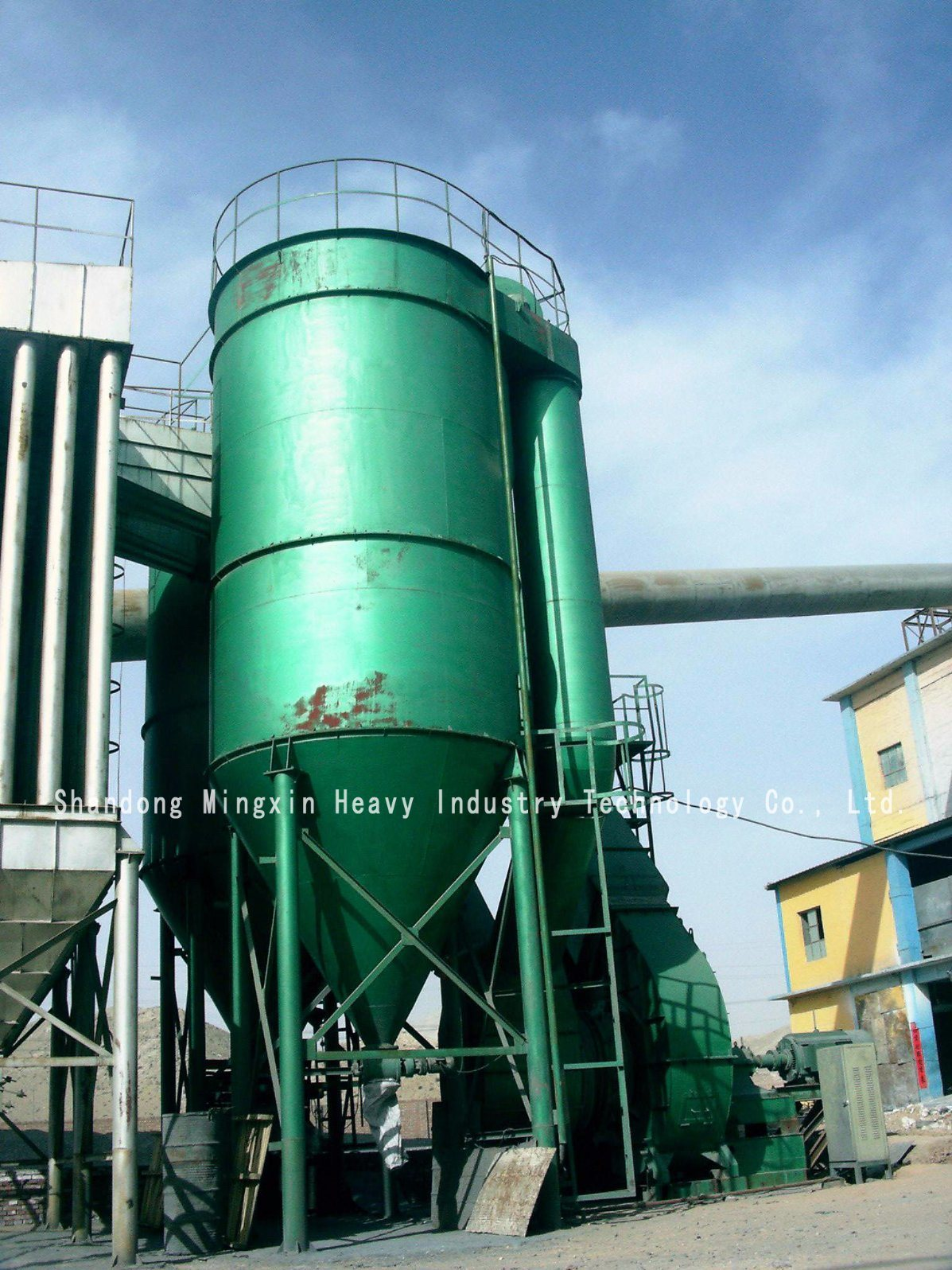 Rotary / Reverse Blowing / Wind Flat Bag Dust Collector
