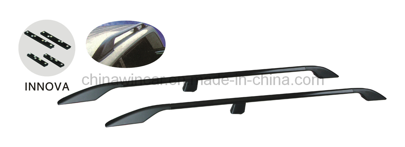 china aluminum car top roof rack roof bar for innova