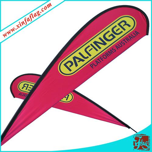 Custom Design Teardrop Flag/Outdoor Flag/Wind Flag/Flying Flag