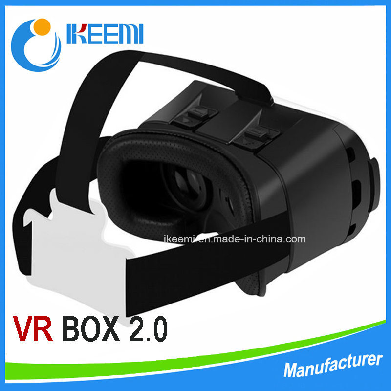 2016 Virtual Reality Glasses Vr Box Fit 4.7 to 6.0 Inch Mobile Phone 3 D Glasses Print Logo Vr Headset
