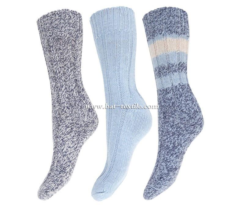 Men′s Double Socks