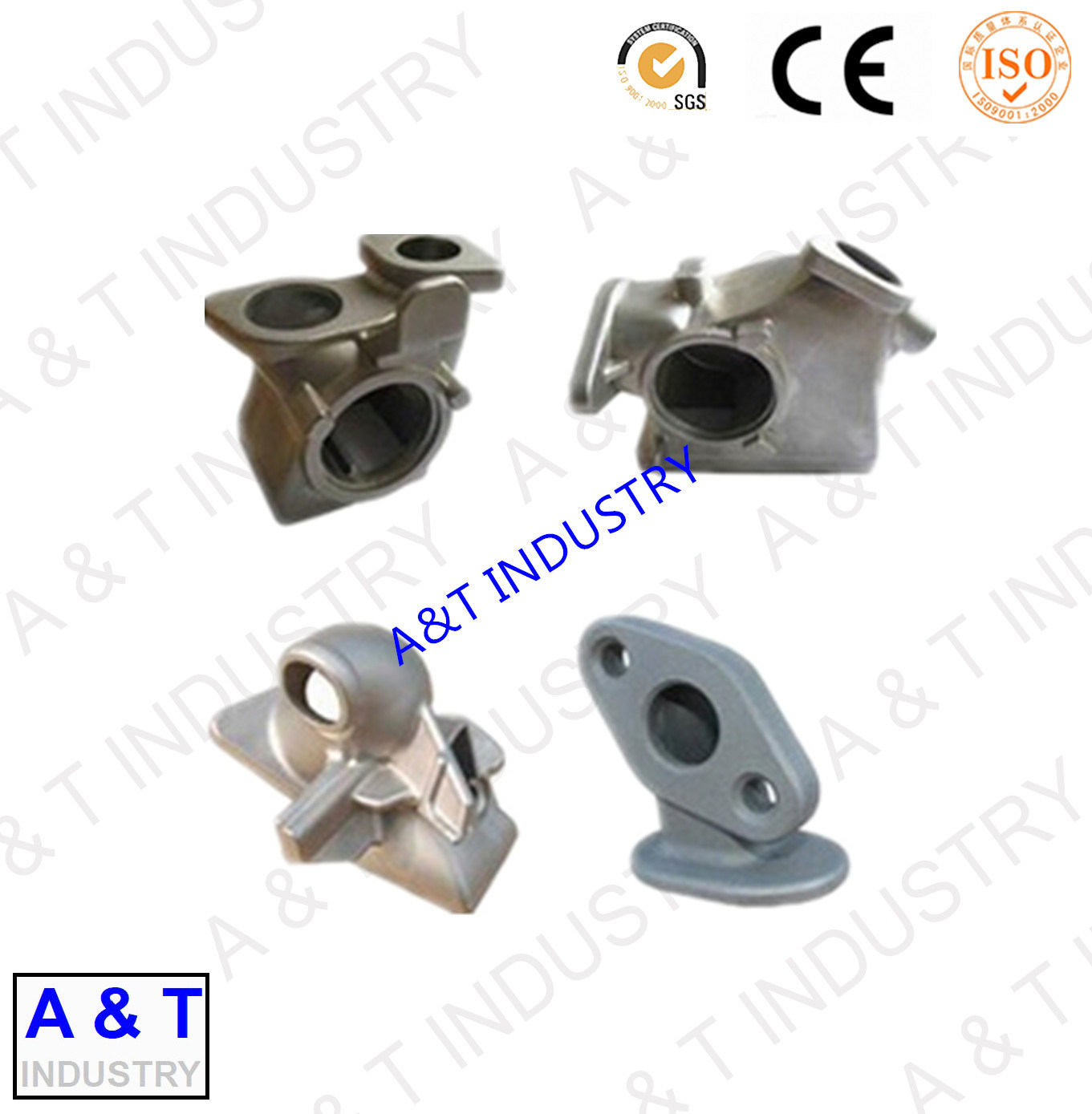ISO 9001 Certificated Customized Pressure Die Casting