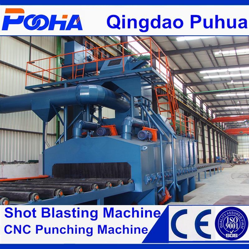 Protective Liner Q69 Series Steel Profile Sand/Shot Blasting Machine