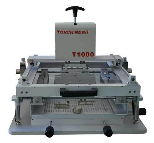 High Precision Manual Screen Printing Machine T1000