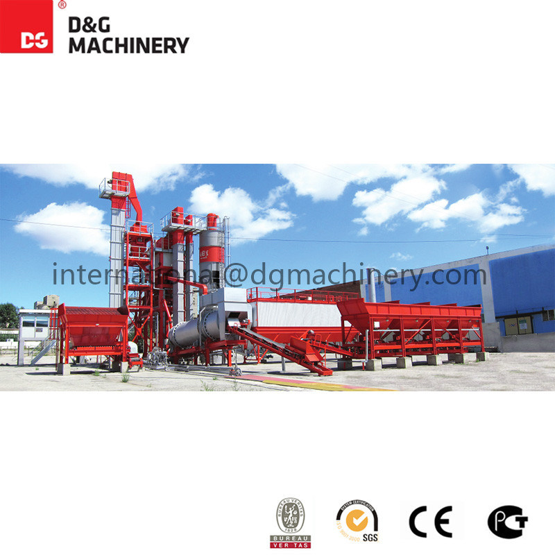 120 T/H Mobile Asphalt Batching Mixing Plant for Sale/Dgm 1500 Asphalt Mixing Plant
