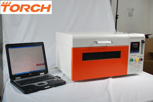 Mini Desktop Nitrogen Reflow Oven with Temperature Curve T200n+ (TORCH)