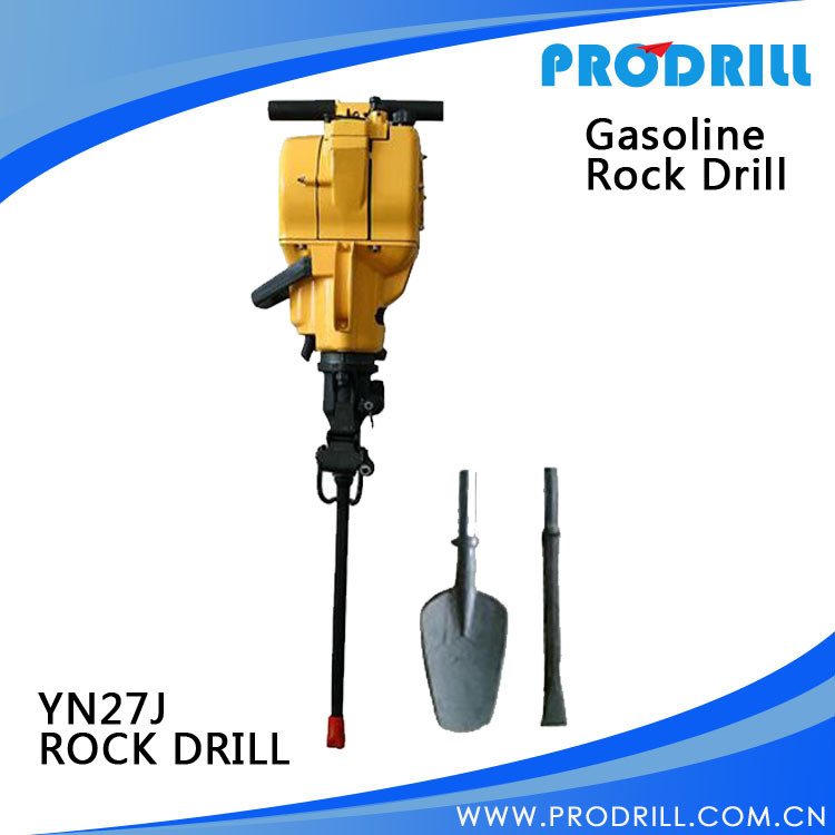 Gasoline Rock Drill Yn27j for Breaking