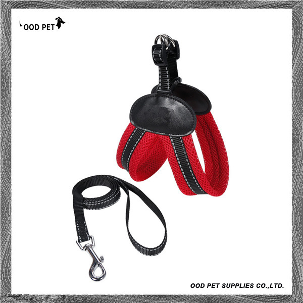 Padded Non Pull Dog Harness with Dog Leads Sph9011