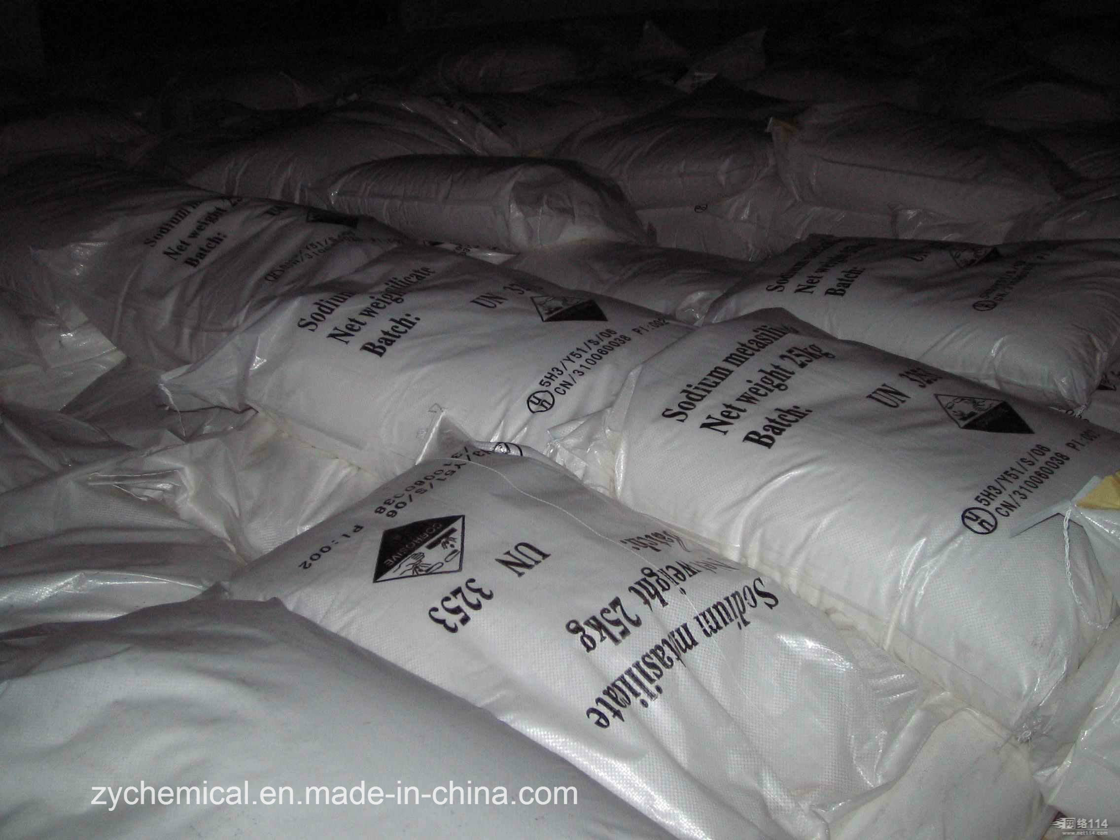 Sodium Metasilicate Pentahydrate, Anhydrous, for Detergent, Ceramic, Textile, Paper & Printing, Construction, Metallurgical Industry