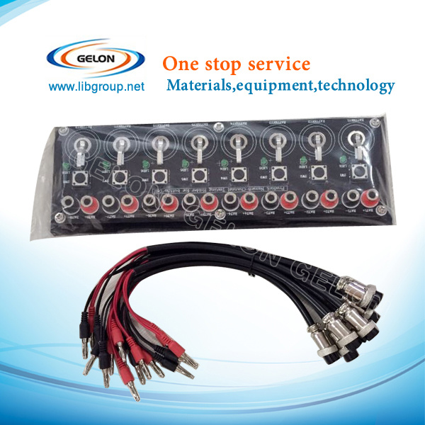 8 Channels Coin/Button Cell Testing Board (Cable Options Available) - Gn-8c