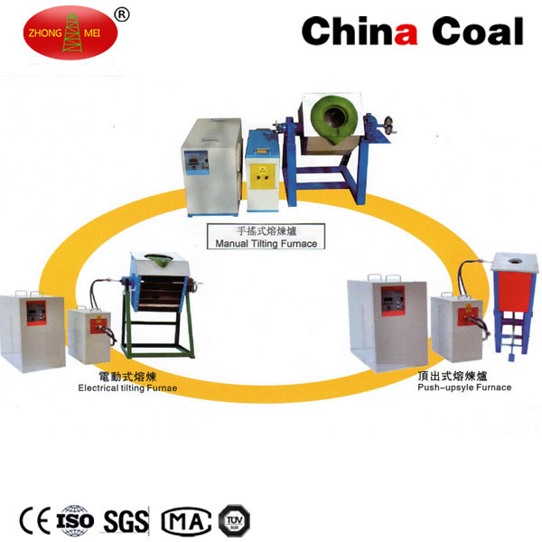 Zg-Mct02 Industrial Induction Melting Furnace